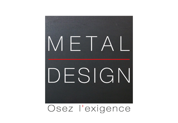 Logo Metal Design-01 tem
