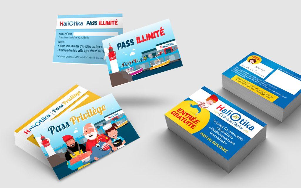 Haliotika-Pass et entree gratuite