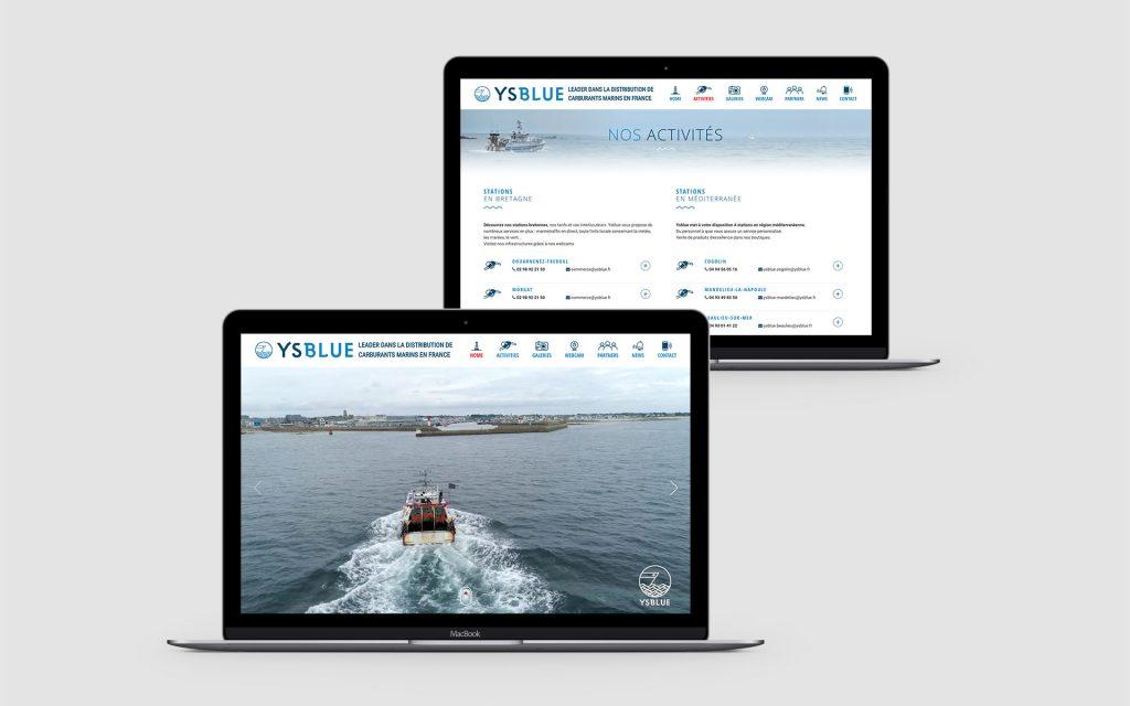 Ysblue_Site web