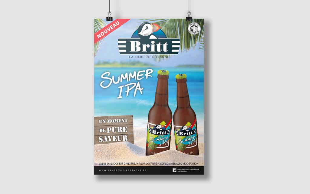 Britt - Summer Affiche